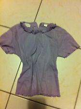 KIABI Tshirt volanté couleur Mauve/parme Enfant 3 Ans / 94 cm