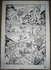 Barnabus Sins Of Honor #1   6 Page Original  Art