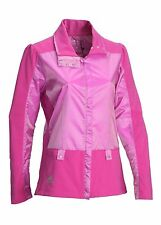Adidas Clima Proof Wind Full Zip Ladies Jacket Raspberry/Magenta Pink S,M,L,XL