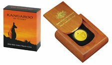2010 $25 Kangaroo At Sunset 1/5oz Gold Proof Coin Rare