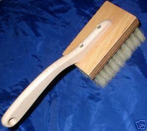 LONG HANDLED STIPPLING BRUSH - new, pure bristle for mottled/stippled finishes