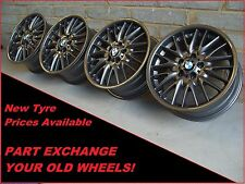 "2166 ORIGINALI 18"" BMW MV1 72 M 1 SERIE 3 SERIE E46 Z4 Grigio Alloy Wheels"