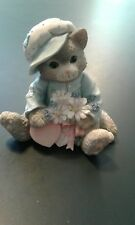 Calico Kittens My Love Blossoms For You #102547 Patricia Hillman 1994 Figurine