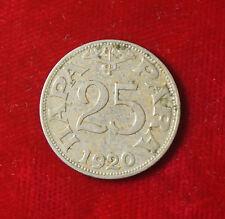 Münze Coin Jugoslawien Jugoslavija 25 Para 0,25 Dinar Dinara 1920 (G5)