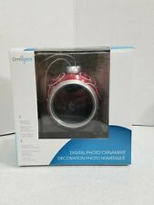 Digital Photo Christmas Ornament Omnitech Red Electronic Gift New In Box