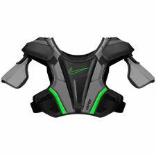 Nike Vapor 2.0 Lacrosse Shoulder Pads Mens Large Black Green Chest Protector