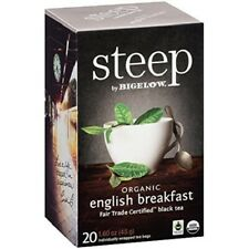 Steep by Bigelow Organic English Breakfast Black Tea