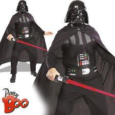 Darth Vader + famosa spada laser Adulto Star Wars Costume MOVIE Costume Accessorio Kit