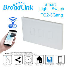 Broadlink TC2 Three Touch Panel APP Control Timer 433MHz Smart Wifi Wall Switch