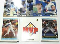 Complete Set! 1992 MCDONALDS MVP Donruss Baseball Set | #1-26 + Gold Blue Jays