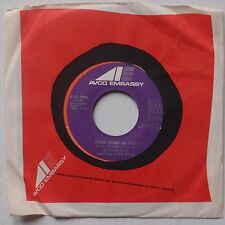 EUGENE PITT & JYVE FYVE: Come Down In Time 70's Soul 45 AVCO EMBASSY hear it