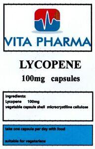 LYCOPENE 100mg 120 capsules macular degeneration and cataracts, antioxidant