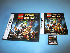 Lego Star Wars The Complete Saga Nintendo DS Lite DSi XL 3DS 2DS w/Case & Manual