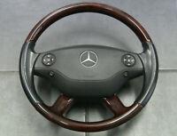 Mercedes S Klasse Lenkrad Leder Semianilin Holz W221 C216 Airbag Multifunktion