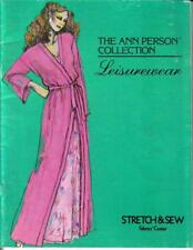 Ann Person Stretch & Sew Leisure Wear Collection Book 1980
