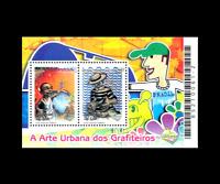 Lubrapex 2006 Urban Art of Graffiti Writers Mi BL133, Sn 2993b Yt BF128, RHM 142