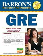 Barron's GRE, 21st Edition by Weiner Green M.A., Sharon , Paperback