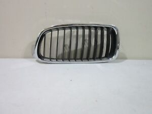 BMW 3 SERIES 12-14 FRONT LEFT KIDNEY GRILLE W/CHROME TRIM RING OEM 51137255411