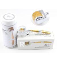 100% Auth ZGTS192 Titanium Alloy Micro Needle Derma Roller Anti Aging Acne Scar