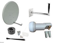 90cm Satellite Dish With Wall Mount & Twin LNB/ Installation Kit