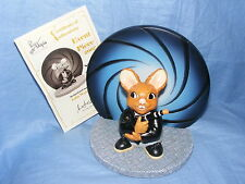 Pendelfin Rabbit 2007 Event Piece Boxed James Bond Limited Edition