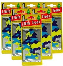 Little Trees Hanging Car and Home Air Freshener, Pina Colada Scent - Pack of 6