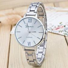 Luxury Fashion Women Men Stainless Steel Analog Alloy Quartz Wrist Watch Watches
