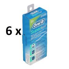 Oral B Super Floss filo interdentale per apparecchi ortodontici e protesi 300