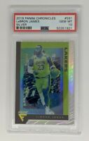 2019 Panini Chronicles Flux 591 LeBron James Silver Prizm Holo PSA 10 GEM MINT