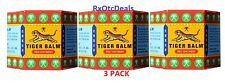 Tiger Balm Red Arthritis Pain Joints Muscle Headache Ache Relief 19.4 gr -3 pack