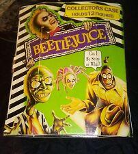 Vintage 1990 Beetlejuice Movie Collector's Case Actor Michael Keaton