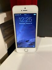 Apple iPhone 5s 16GB Silver (AT&T) A1533 (GSM) MINT No Scratches