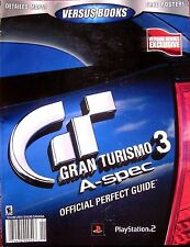 GRAN TURISMO 3: A-SPEC BRAND NEW Official PERFECT GUIDE Versus Books 28 Strategy