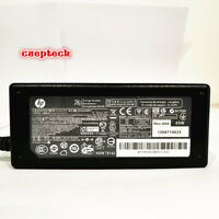 Genuine HP 45W blue tip laptop AC Adapter Power Supply charger 19.5V 741727-001