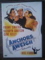 Anchors Aweigh (1945) (DVD, 2000) Gene Kelly, Kathryn Grayson, Frank Sinatra