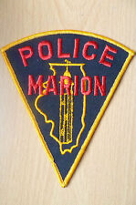 Patches- MARION USA POLICE PATCH (NEW* apx.14x11.5cm)