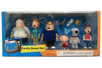 FAMILY GUY ACTION FIGURES: Complete Griffin Family Boxed Set (Mezco 2005) MIB