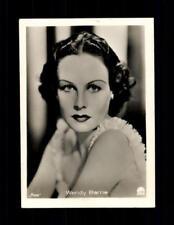 Wendy Barrie Haus Bergmann Film Photos Zigarettenbild  ## BC 129054