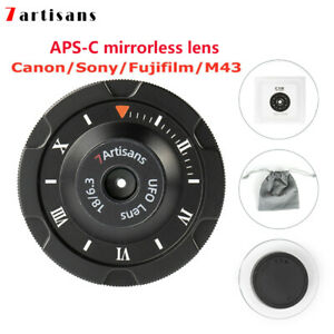 7artisans 18mm F6.3 APS-C Mirrorless Lens For Canon EF/ FUJI XF/ Sony E/  M4/3