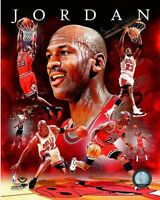 "MICHAEL JORDAN Chicago Bulls NBA ""Upper Deck"" LICENSED picture poster 8x10 photo"