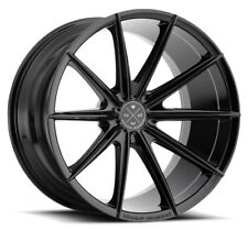 "20"" BLAQUE DIAMOND BD-11 GLOSS BLACK WHEELS FOR LEXUS GS350 GS450h GS460 GSF"