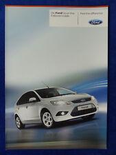 Ford Focus Viva Editionsmodelle MJ 2011 - Prospekt Brochure 08.2010