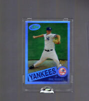 2007 eTopps /1200 Phil Hughes #17 New York Yankees Rookie Card RC Rare In Hand