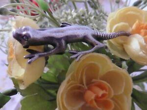 Victorian/Edwardian Solid Silver Lizard Brooch