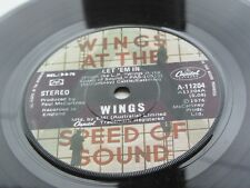 PAUL McCARTNEY  WINGS  1976 AUSTRALIAN   DEMO    LET 'EM IN
