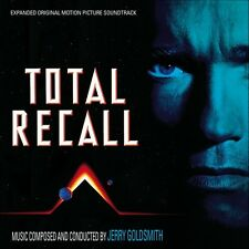 Total recall  cd sealed oop jerry goldsmith 2 cd set