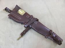 US ARMY WW2 Holster Lederholster für M1 CARBINE M-1 Scabbard / für Jeep oder WLA