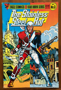 The Stainless Steel Rat... Saves The World - Eagle Comics BD 1985 RARE VO