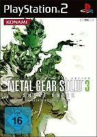 PS2 / Sony Playstation 2 - Metal Gear Solid 3 - Snake Eater DEUTSCH mit OVP