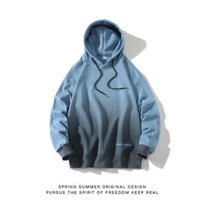 Mens Fashion Hoodie Sweater Workout Top Casual sports Hip Hop Coat Sweatshirt